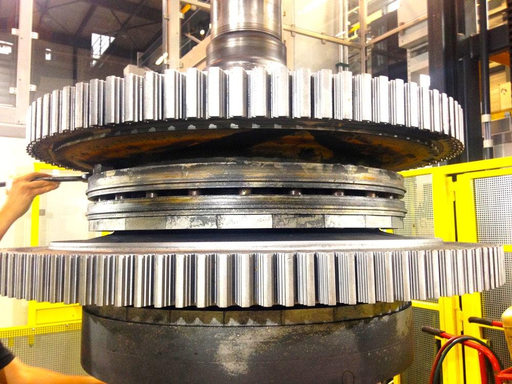 Gas Turbine Rotor Repair Mc 178 Energy